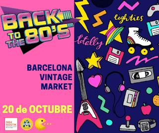 Mercadillos de Segunda Mano, Vintage y Nuevos Diseñadores en Barcelona en Octubre