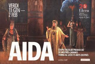 Vuelve «Aida» de Verdi al Gran Teatre del Liceu