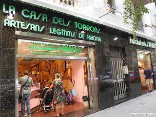 Las mejores tiendas de turrones en Barcelona