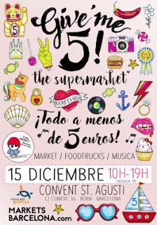 Mercadillos de Segunda Mano, Vintage y de Nuevos Diseñadores de Barcelona en Diciembre