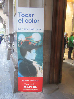 «Tocar el color. La renovación del pastel» en la Sala Fundación Mapfre Casa Garriga Nogués