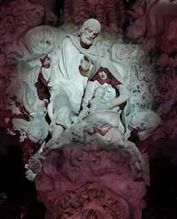 Iluminación Basílica de la Sagrada Familia