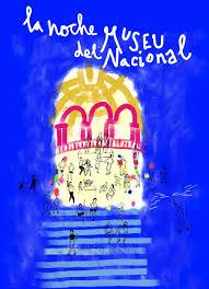 La noche del Museo Nacional de Arte de Catalunya