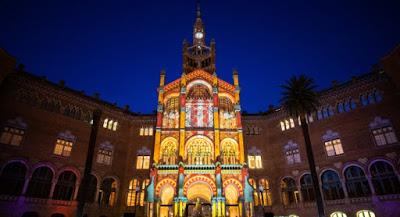 Navidad en el Recinto Modernista Sant Pau