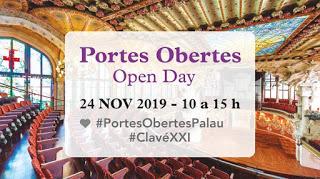 Puertas Abiertas en el Palau de la Música Catalana