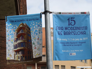 Feria Modernista y Fiesta Mayor de la Dreta de l'Eixample