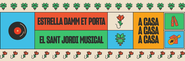 Sant Jordi Musical con Estrella Damm